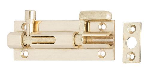 469 PB - Necked Bolt - Polished Brass