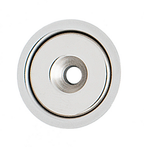 332WC  Magnetic Stop with Cups - Chrome Plate