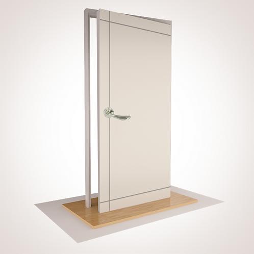 --COASTLAND-- Pre Hung Door- 95% Cropped with Hardware