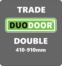 Duo Door Double grey background retail 7