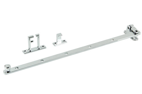 180 CP - Casement Stay - Chrome Plate
