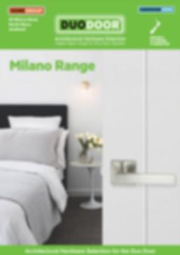 DUO DOOR Hardware Brochure Milano pg 1.p