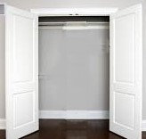 810 x 1980 x 35mm, Plain, Double Hung
