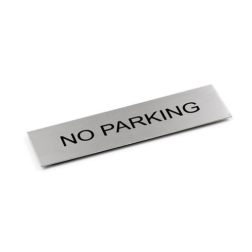 Door Sign - NO PARKING  - 170 x 50