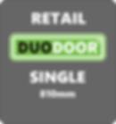 Duo Door Single grey background retail 8