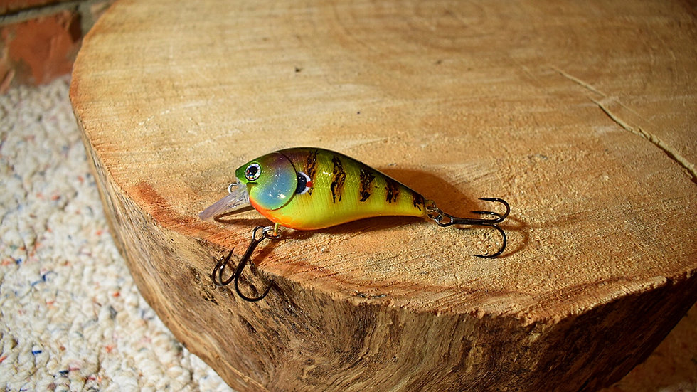 Custom 1.5 Blue Gill Square Bill Crank Bait