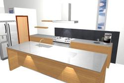 Kitchen 3 3D view