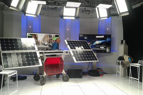 SOLAR SUNSET, système de sonorisation autonome grâce à l'énergie solaire.