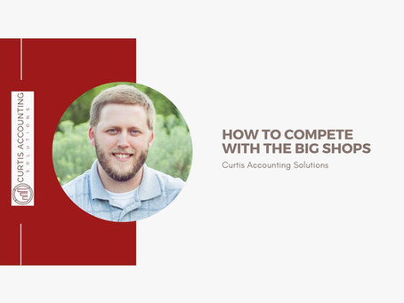 How to Compete with the BIG Shops
