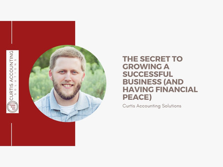 The secret to growing a successful business (and having financial peace)