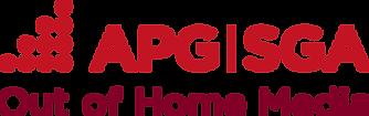 Logo APG SGA Out of Home Media farbig rg