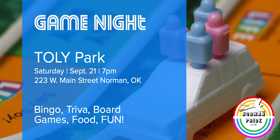 Game Night at TOLY Park