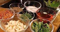 Zutaten zur Chili Sauce