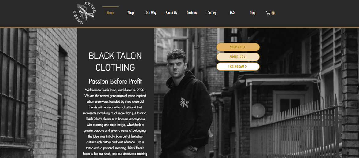 Black Talon Clothing