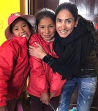The children of Peru at School
