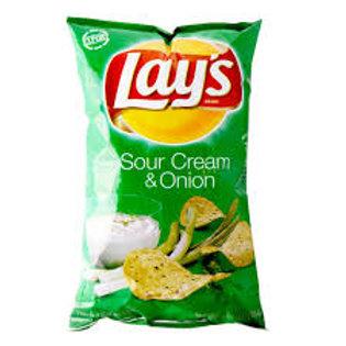 Lays Potato Chips SC & O 6.5oz