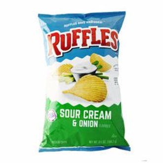 Ruffles Potato Chips SC & Onion6.5oz