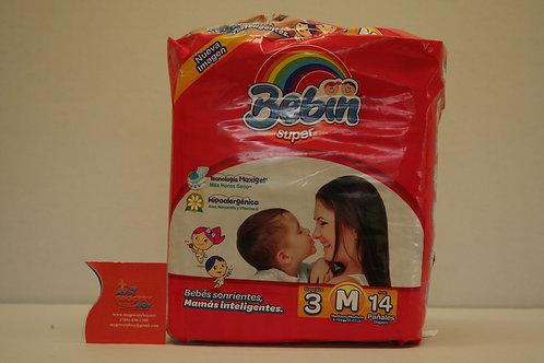 Bebin Medium Diapers Dispoable