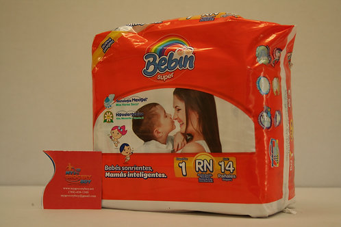 Bebin New Born Diapers Disposable