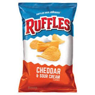 Ruffles Potato Chips C & SC  6.5oz