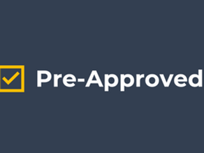 The importance of pre-approvals