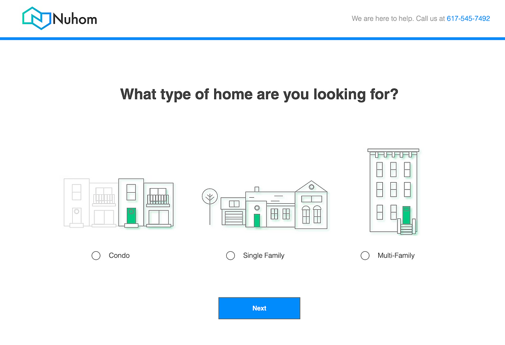 Nuhom - Searching for homes in Boston