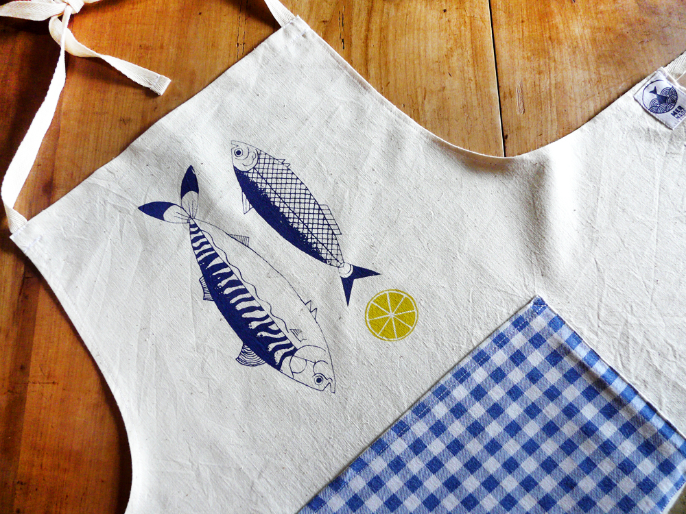 Tablier maquereau sardine et citron