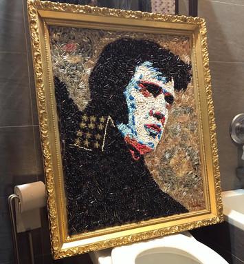 """Elvis 28""""x34"""" pills sold"""