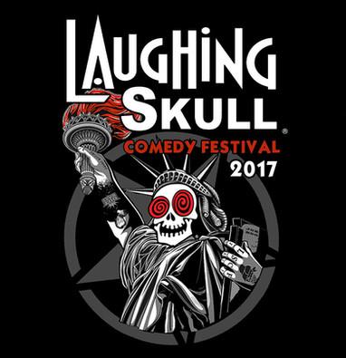 Laughing Skull Comedy Festival 2017 Logo
