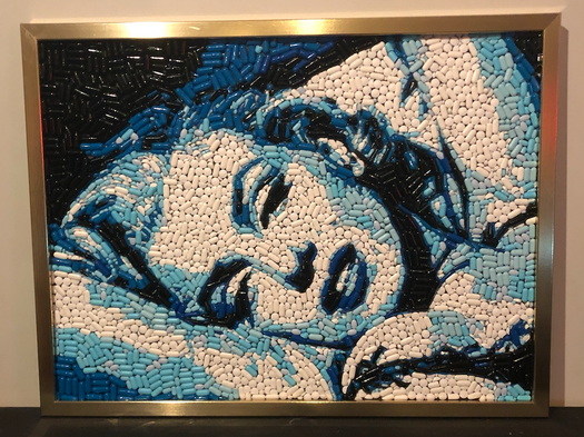 "Marilyn 18x24"" $950 (email theandrewgeorge@gmail.com to purchase)"