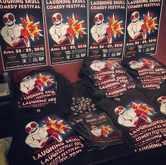 Skull Fest 2018 Merch