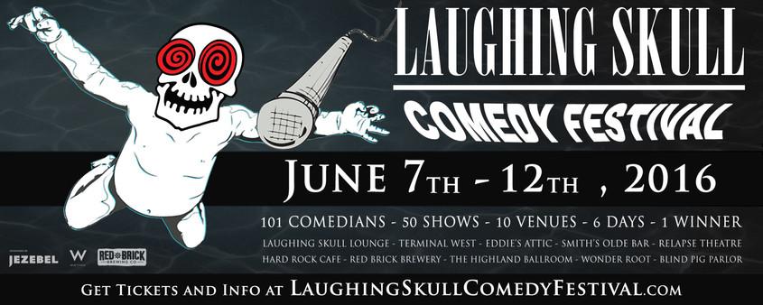 Laughing Skull Comedy Festival 2016 Banner