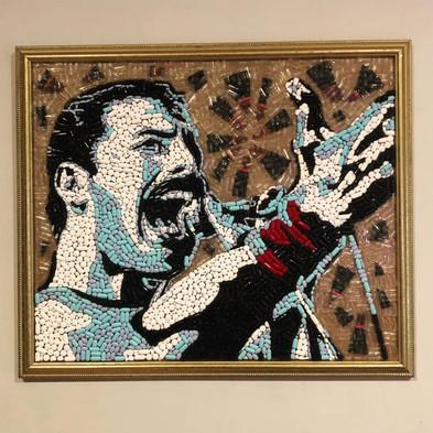 """Freddie 18x24"""" $950"""