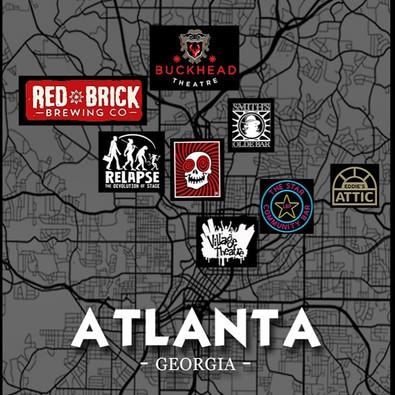 Atlanta Comedy Map