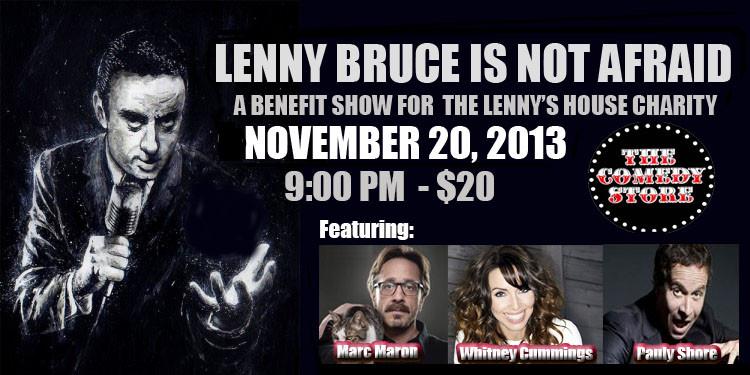 Created for the Lenny Bruce Memorial Foundation fundraiser