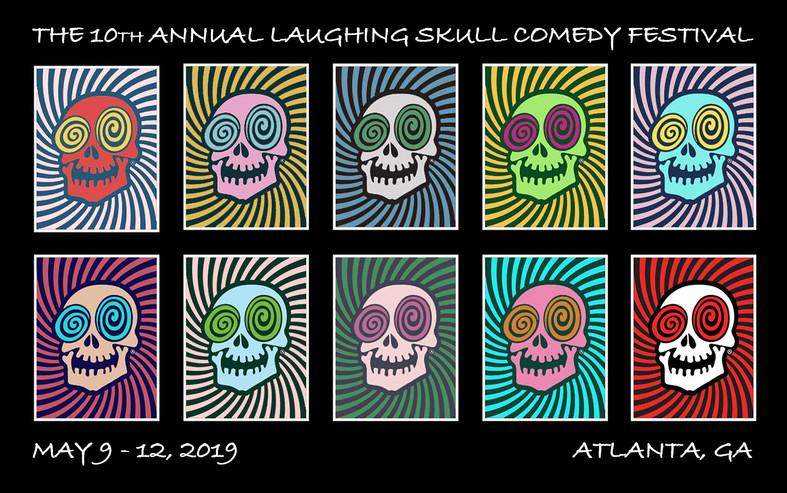 Laughing Skull Festival 2019 Logo