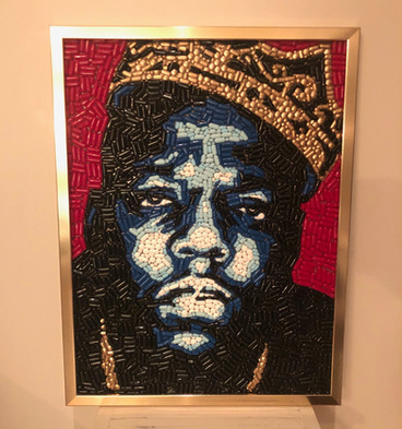 "Biggie 18x24"" $950 (email theandrewgeorge@gmail.com to purchase)"