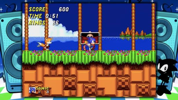 Try your hand at old-school Sonic