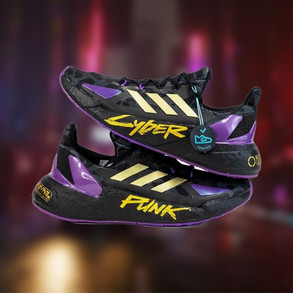 Adidas Reveals New Cyberpunk 2077 Shoe Line