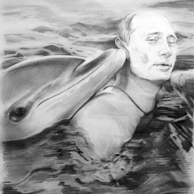 Bather with Dolphin.jpg