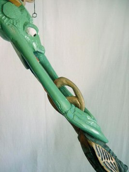 Frogfish detail