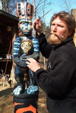 Blue Monkey Pole and me