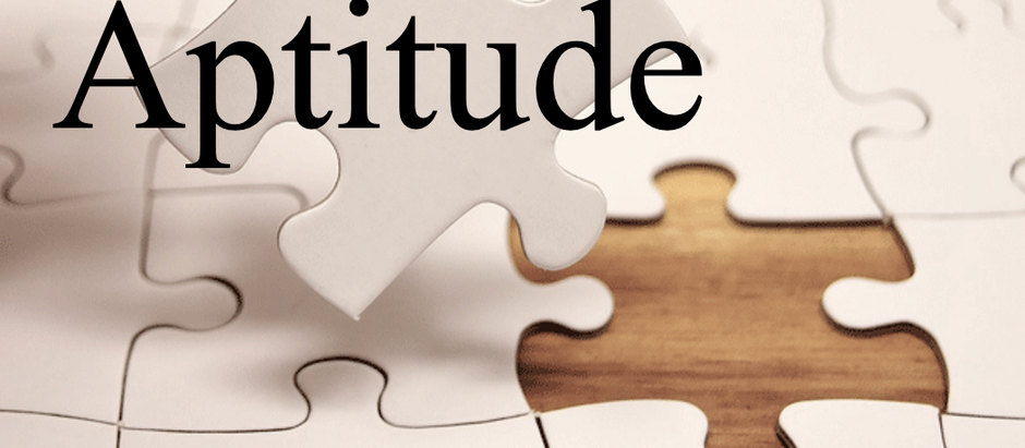 Aptitude: The Intersection of Effort & Ability