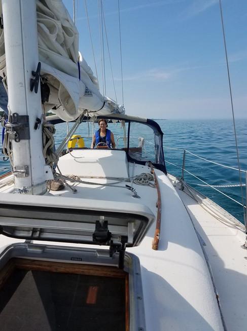 lake huron sailing