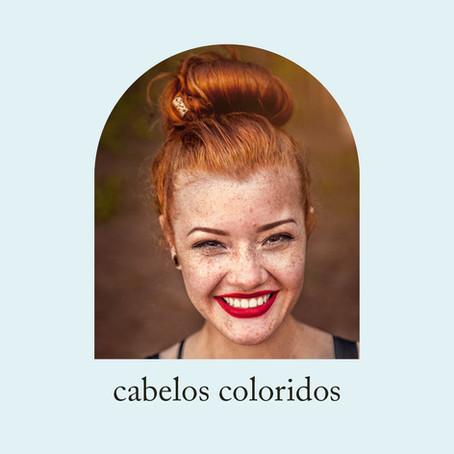 Cuidados com os cabelos coloridos