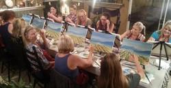 Painting, Wine, Conversation