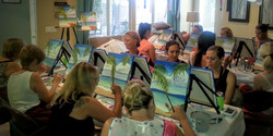 Bridal Shower Painting Party