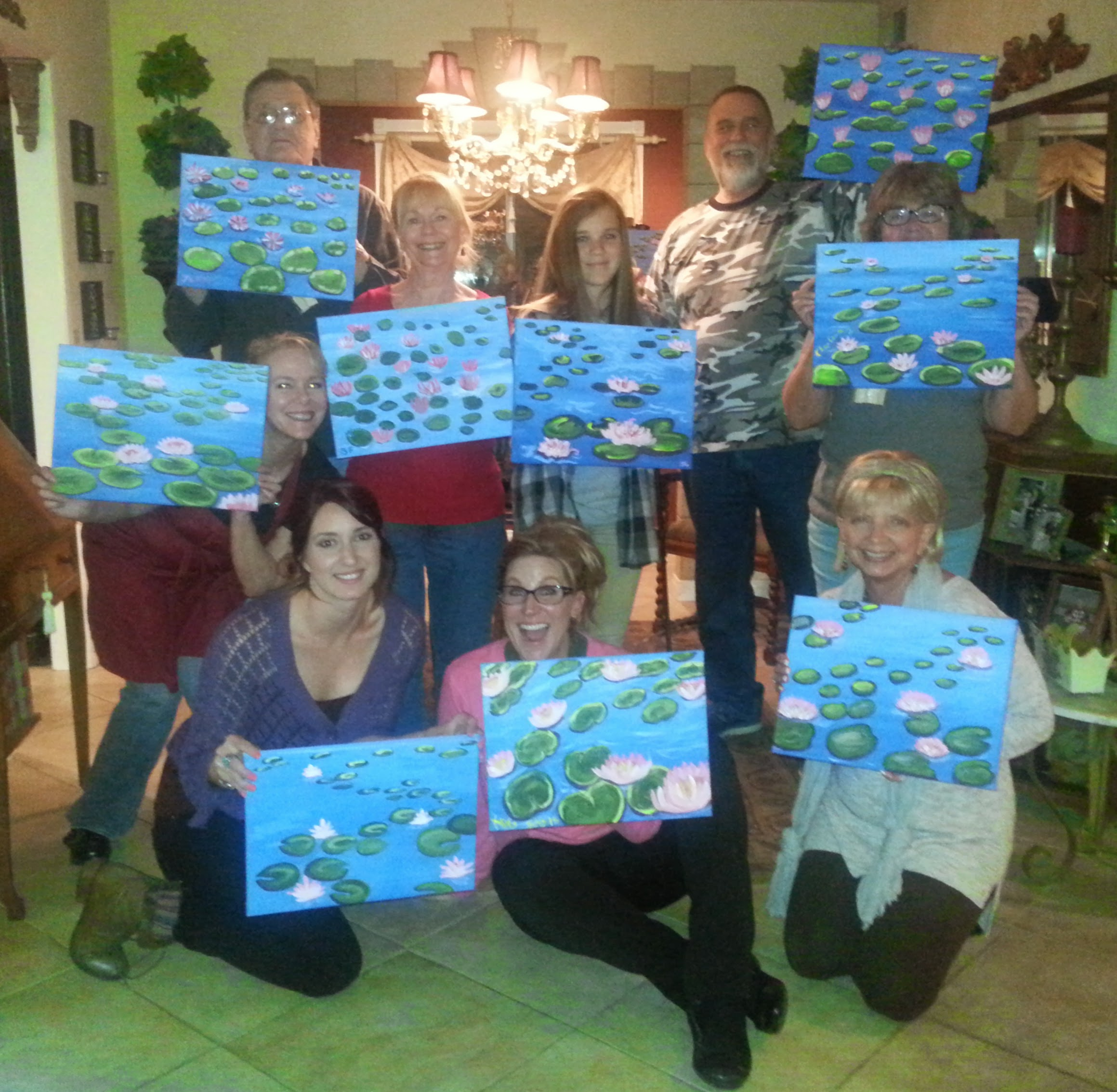 Paint Night Success
