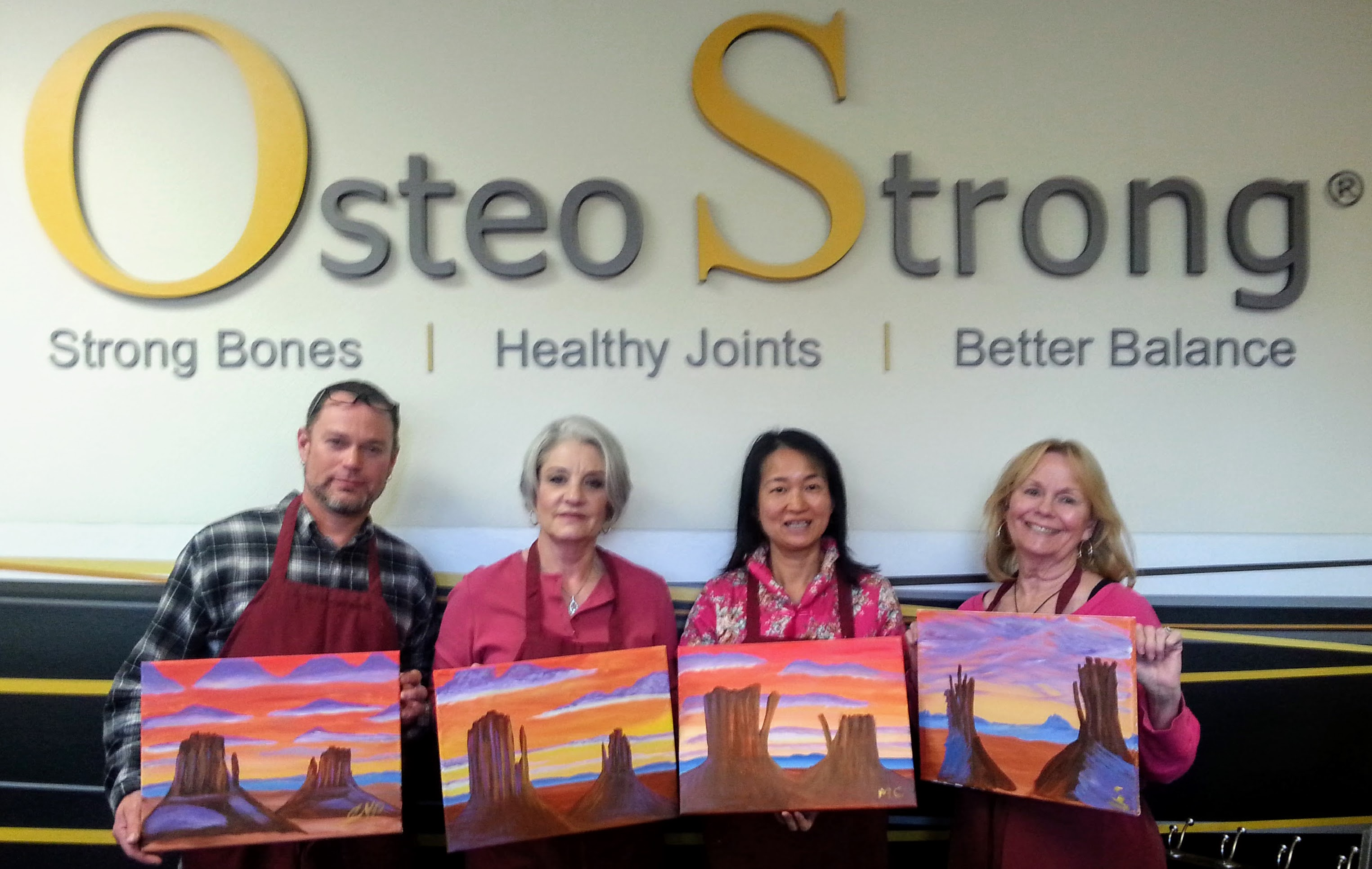 OsteoStrong Paint Night