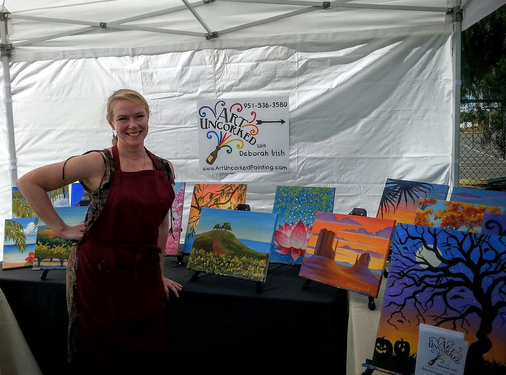 Art Uncorked at Menifee Hallowfest